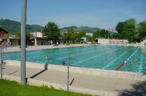 50-m-Schwimmbecken Badi Belp