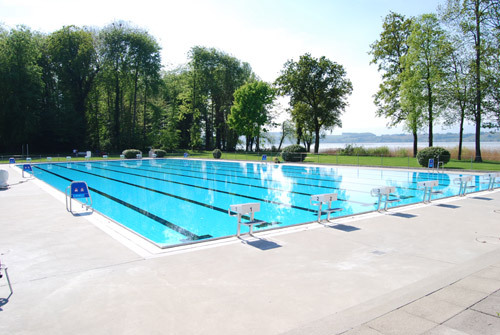 Schwimmbad Seebad Murten